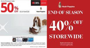 Hush Puppies End of Season Sale, updated on 25 Feb 2020