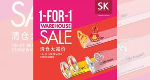 SK Jewellery 1-for-1 Warehouse Sale