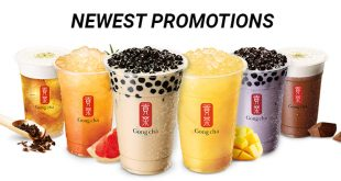 Gong Cha Promotions for Singapore 2019