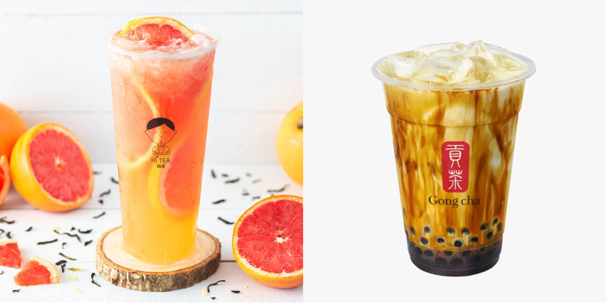 Left to right: Hi Tea & Gong Cha Singapore