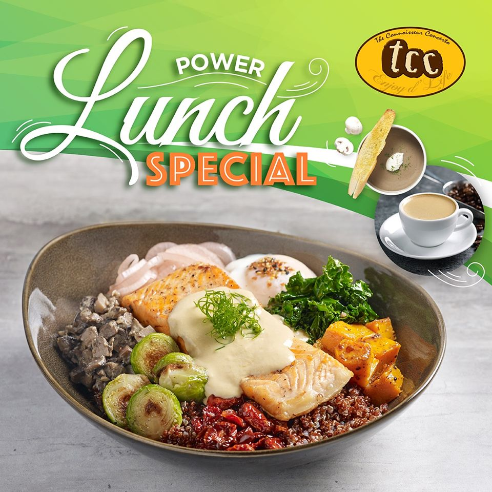 ower Lunch Special at tcc Clarke Quay