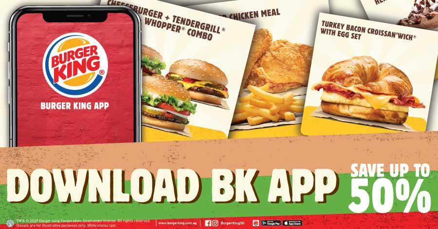 Burger King Coupon Deals 50 Off E Coupons More November 2020 Sgdtips