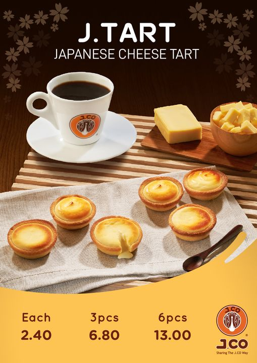 New Japanese Cheese Tart For $2.40