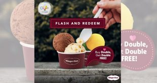 Haagen Dazs Buy Double Get Double Free till 17 July 2020