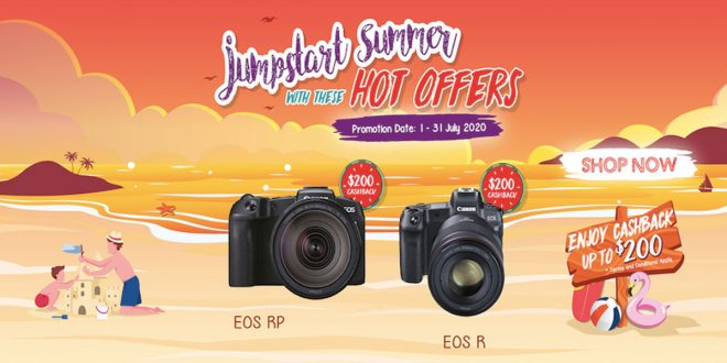 Canon promotions, 10 July 2020