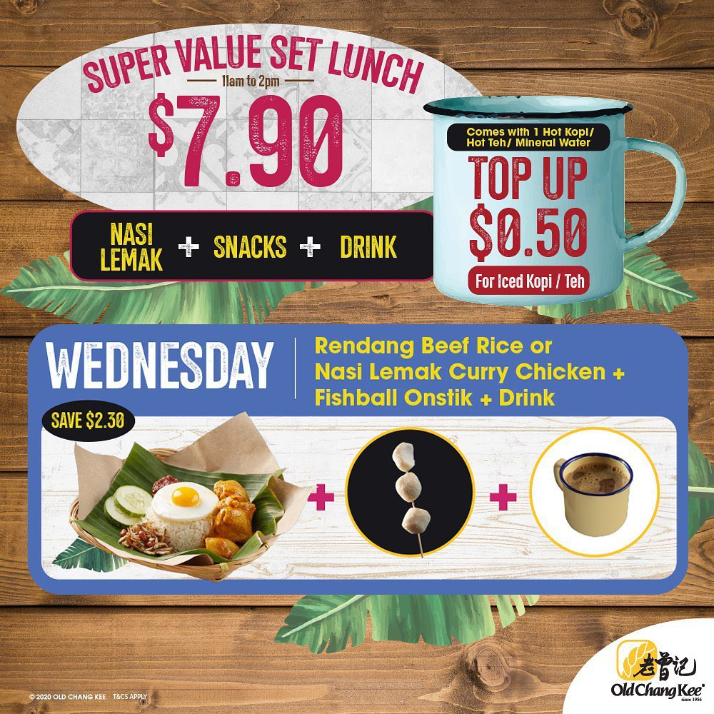Daily Weekday Set Lunch at only $7.90 -3