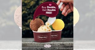 Buy double, get double scoop free at all Häagen-Dazs stores