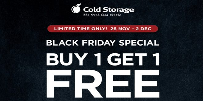 Cold Storage Black Friday Offers 2020