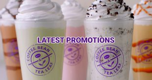 Ongoing Promotions at The Coffee Bean