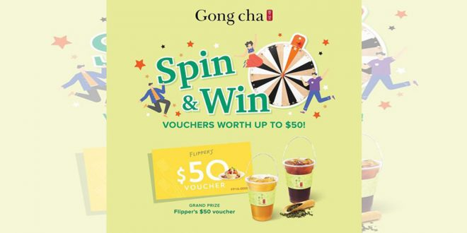 Gong Cha Offers 6 Oct 2021