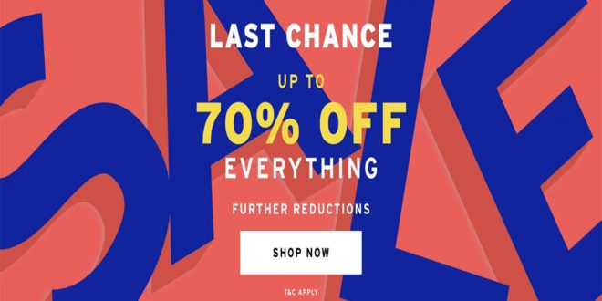 Topshop Sales 19 Feb 2021