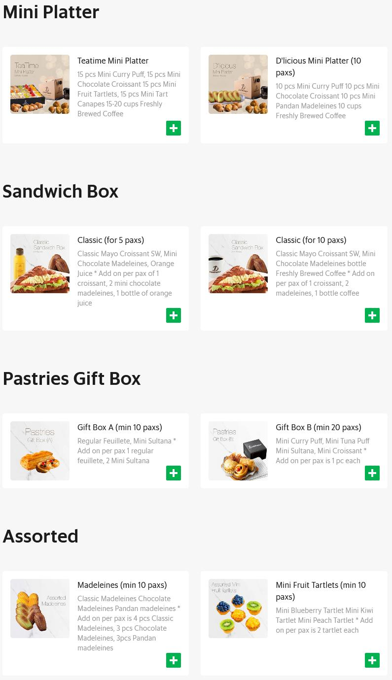 Delifrance x Grabfood deals